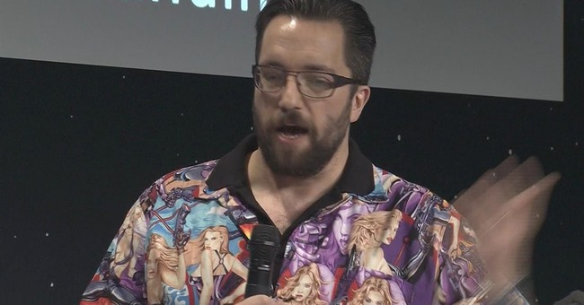 Space scientist apologizes for shirt called sexist